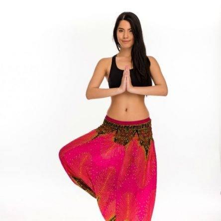 Női Aladdin nadrág rózsaszín